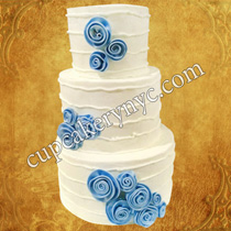 quilled wedding cake