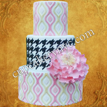 ikat wedding cakes