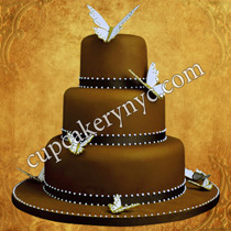 butterfly bday cake