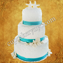 lace wedding cakes how to make