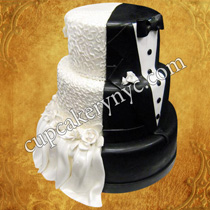cornelli lace wedding cakes