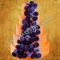 quilling cake decoration ideas