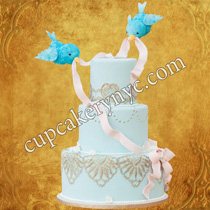 birdcage birthday cake