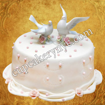 love bird cake decorations