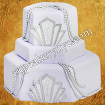 hexagonal cake