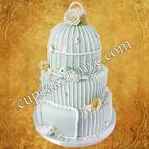 birdcage wedding cake price