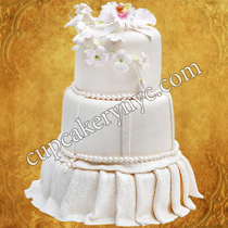 wedding cake match dress