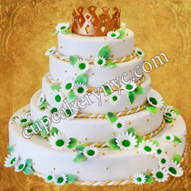 crown birthday cake ideas