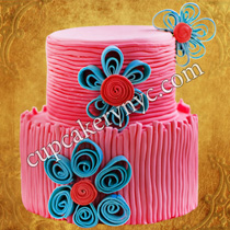 cute spring cakes