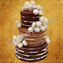 naked cakes decoration